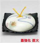 流水春秋石目正角陶板鍋(大)