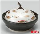 黒釉銀彩武蔵野耐熱鍋