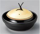 赤帯金彩駒筋鍋