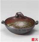 窯変鉄釉5号鍋