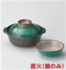 グリーン金紋小鉢