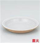 グレー柳川皿(大)