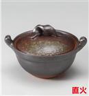 窯変鉄釉4号鍋