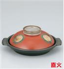 朱巻金紋5.5号陶板