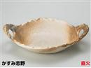 かすみ志野6号変形陶板