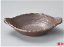 茶変形浅鍋