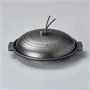 いぶし銀16㎝丸陶板(アルミ)