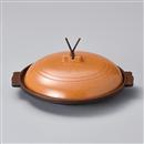 梨地18㎝丸陶板(アルミ)