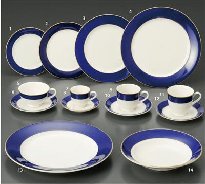 ロイヤルブルー N・S 6 1/2吋パン皿