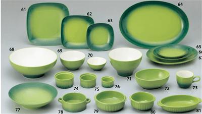 COLORE(コローレ)(緑) グリーン スクエアプレート(L)