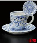 古代ナポリコーヒー碗皿(セット)