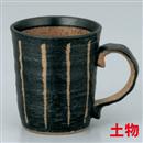 彫トクサ(黒)マグ