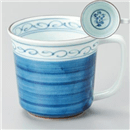 ゴス桔梗マグカップ(青)