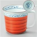 ゴス桔梗マグカップ(赤)