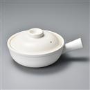 白釉片手鍋小