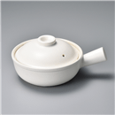 白釉片手鍋大