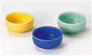 [陶]陶器丸切立小付 黄釉