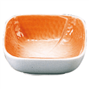 折り紙角鉢 オレンジ
