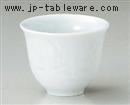 青白磁つゆ草反煎茶